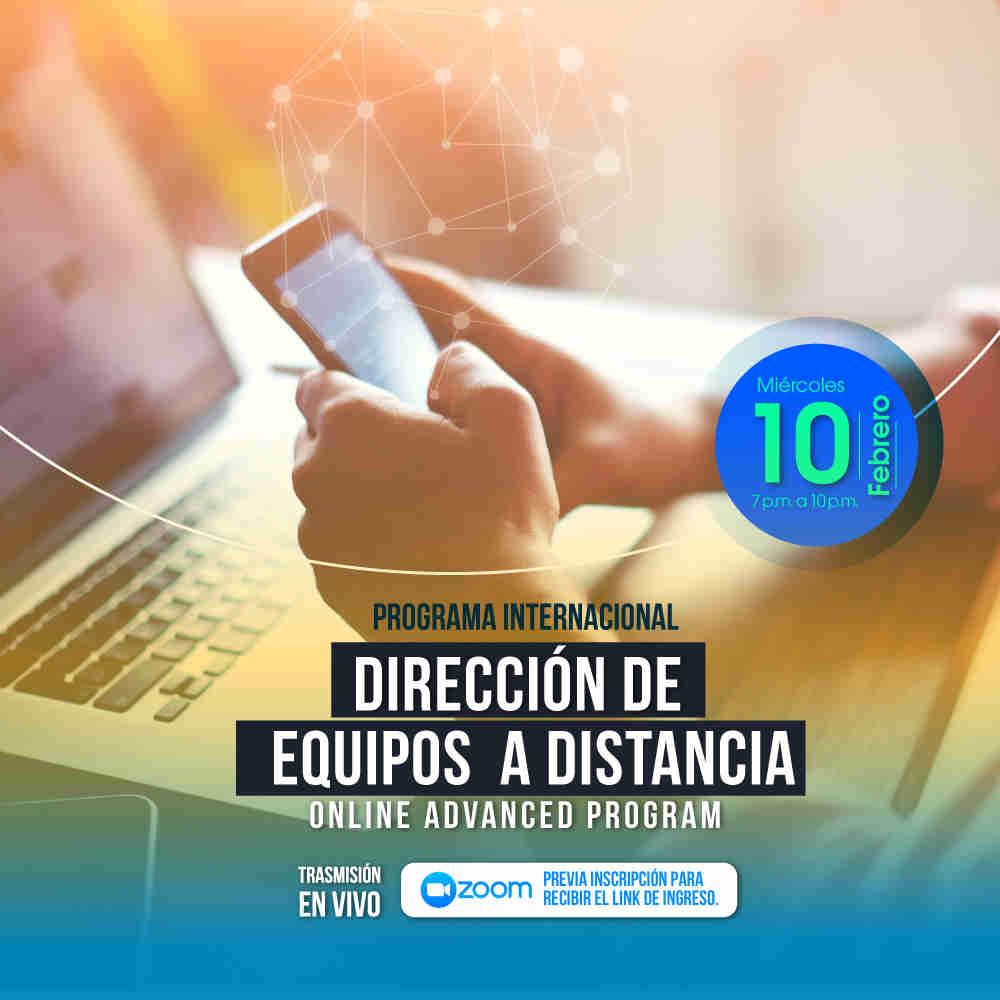 Programa Internacional en Dirección de Equipos a Distancia